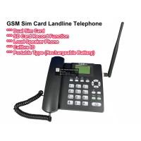 GSM Dual Sim Card Land Line Phone