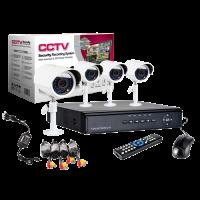 4CH 3G CCTV Combo Set