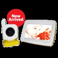 "2.4 Ghz Wireless 7"" LCD Digital Baby Monitor Kit 2010D"