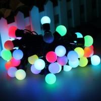 Led Stright Colour Ball light 5meter (Multi)